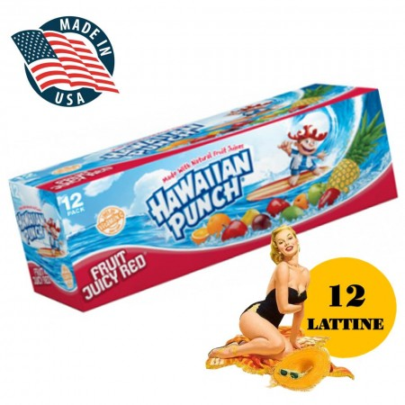 HAWAIIAN PUNCH 12x355ml SOFT DRINK USA