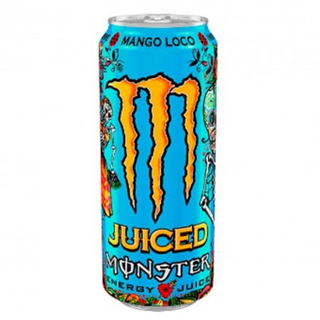 1 LATTINA MONSTER DA 500 ML MANGO ENERGY DRINK