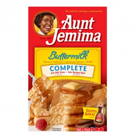 AUNT JEMIMA BUTTERMILK COMPLETE 6Oz ( 170g ) PREPARATO PER PANCAKE MIX CIBO USA