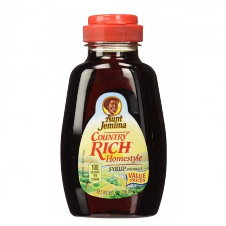 AUNT JEMIMA COUNTRY RICH HOMESTYLE PANCAKE SYRUP ( 236 ml )