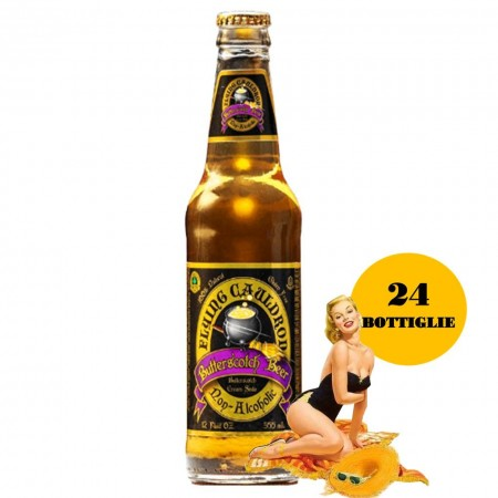 HARRY POTTER BURROBIRRA 24x330ml BUTTER BEER NON ALCOLICA