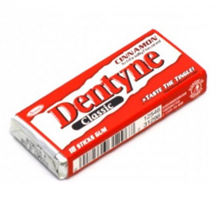 DENTYNE GOMME ALLA CANNELLA 18pz A PACCO CHEWING GUM USA