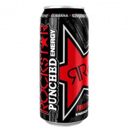 ROCKSTAR FRUIT PUNCH PUNCHED DA 500 ML BEVANDA ENERGETICA ENERGY DRINK TAURINE