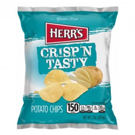 HERRS CRISP TASTY POTATO CHIPS 24g PATATINE