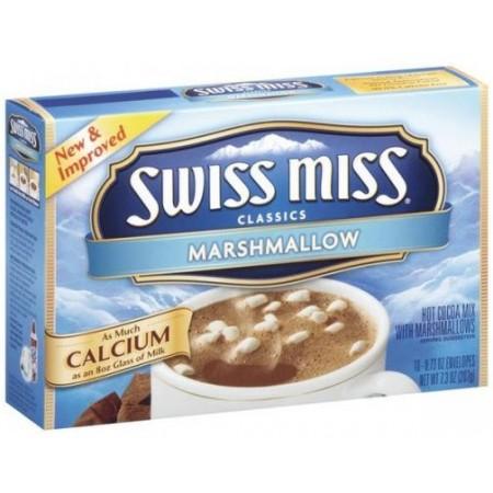 SWISS MISS CLASSICS MARSHMALLOW CIOCCOLATO 207gr 10 BUSTE NEL BOX