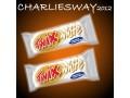 2 x TWIX 45gr WHITE CHOCOLATE SNACK CIOCCOLATO BIANCO MADE IN USA
