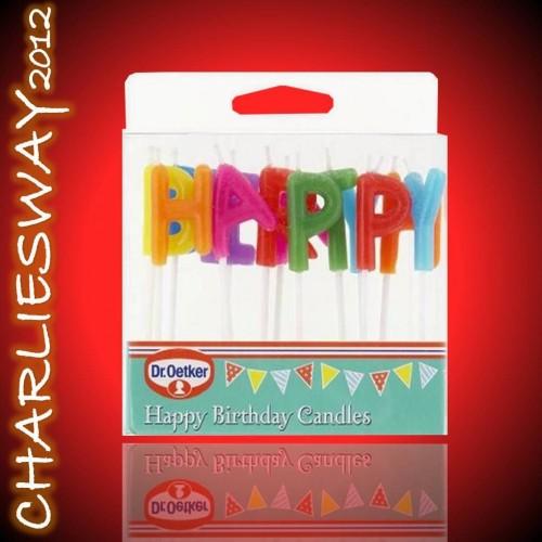 Dr oetker candeline di buon compleanno per torte feste for Addobbi per feste
