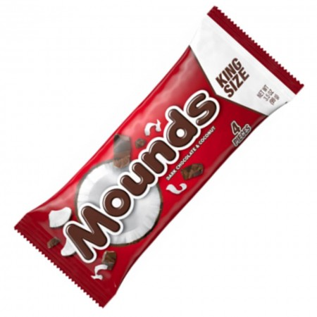 HERSHEY'S MOUNDS KING SIZE 100g DARK CHOCOLATE E COCONUT
