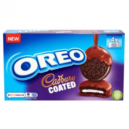 OREO CADBURY COATED BISCUITS 164g RICOPERTI AL CIOCCOLATO