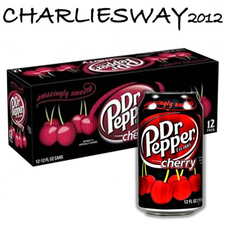 DR PEPPER CHERRY 12x355ml MADE IN USA