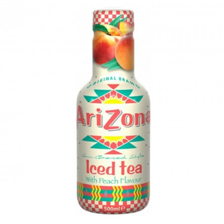 ARIZONA ICED TEA WITH PEACH FLAVOUR 500ml TE ALLA PESCA