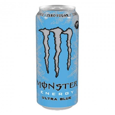 MONSTER ENERGY ULTRA BLUE 500ml MIRTILLO MORA UVA
