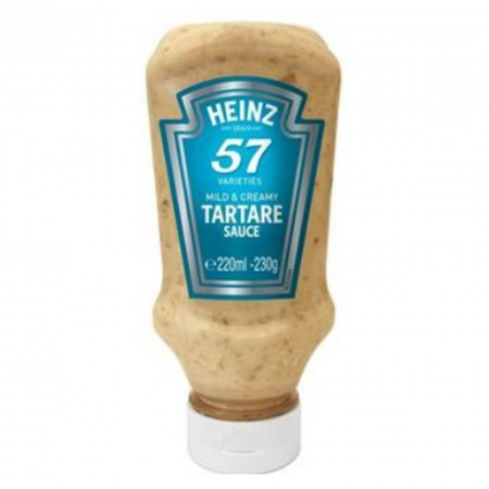 HEINZ FRENCH STYLE TARTARE SAUCE 230g
