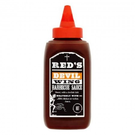 REDS DEVIL WING BARBECUE SAUCE HOT 320g BBQ