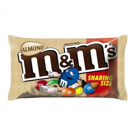 MEMS ALMOND KING SIZE 80g MANDORLE SNACK AMERICANO DOLCIUMI MADE IN USA