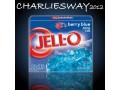 JELL-O BERRY BLUE DA 85GR PREPARATO DESSERT FRUTTI DI BOSCO IN GELATINA AROMI NATURALI