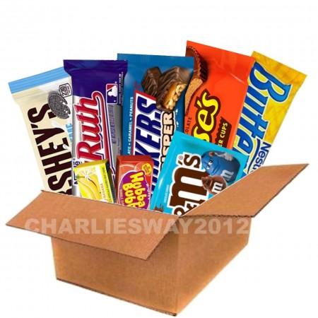 MISTERY BOX SNACK AMERICANI DOLCI SWEETY ( 15PZ )