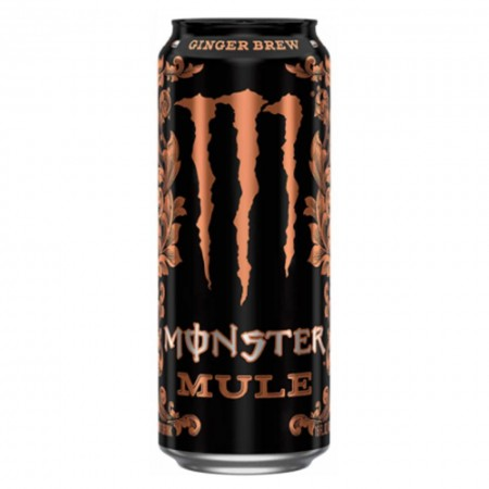 MONSTER MULE GINGER BREW 473ml ZENZERO LIME