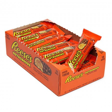 REESES NUTRAGEOUS BARS ( 18 x 47g )