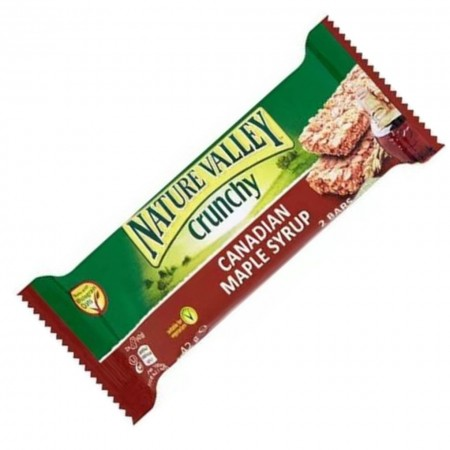 NATURE VALLEY CANADIAN MAPLE SYRUP CRUNCHY 42g