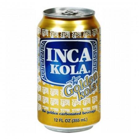 INCA KOLA 355ml COLA GOLDEN AMERICA LATINA