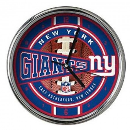 NEW YORK GIANTS # 1 OROLOGIO 29 CM DA PARETE DA TAVOLO IDEA REGALO CLOCK