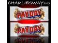2 X PAY - DAY SNACK AMERICANO CON CARAMELLO E ARACHIDI MADE IN USA