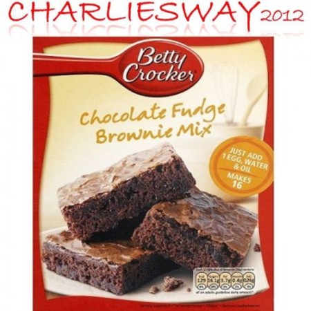 BETTY CROCKER PREPARATO PER TORTA TORTE CHOCOLATE FUDGE BROWNIE MIX DA 415 Gr