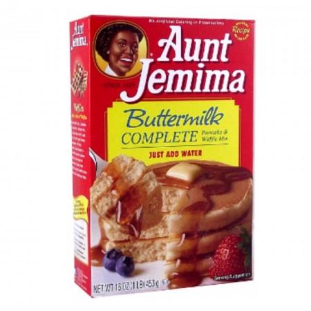 AUNT JEMIMA BUTTERMILK 453 Gr COMPLETE PREPARATO PER PANCAKES / WAFFLE / MUFFIN MIX