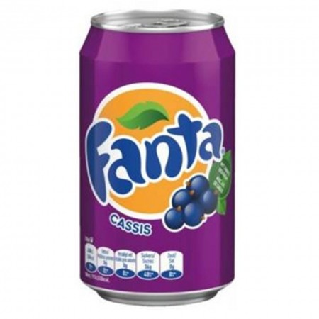 FANTA CASSIS ( 12 x 330ml ) MADE IN EUROPE