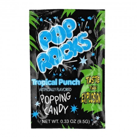 POP ROCKS TROPICA PUNCH 9,5g CARAMELLE FRIZZANTI MADE IN USA