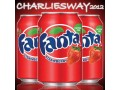 FANTA STRAWBERRY ( 3 x  355ml ) MADE IN USA ALLA FRAGOLA AMERICANA