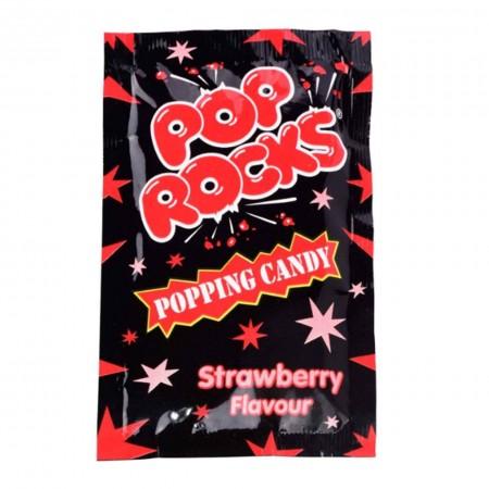 POP ROCKS STRAWBERRY 9,5g CARAMELLE FRIZZANTI MADE IN USA