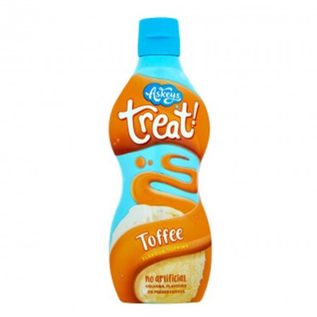 TREATS TOFFEE SYRUP 325g TOPPING CARAMELLO