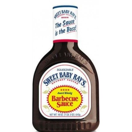 SWEET BABY RAYS ORIGINAL BARBECUE SAUCE 510g SALSA BBQ AMERICANA