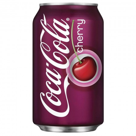 COCA COLA CHERRY 355ML CILIEGIA MADE IN USA BIBITA AMERICANA