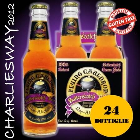 24 X BIBITA DI HARRY POTTER LA BUTTERBEER NON ALCOLICA IN BOTTIGLIA DA 330ML