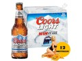 12 BOTTIGLIE BIRRA COORS LIGHT 330ML BEER BRAND AMERICANO