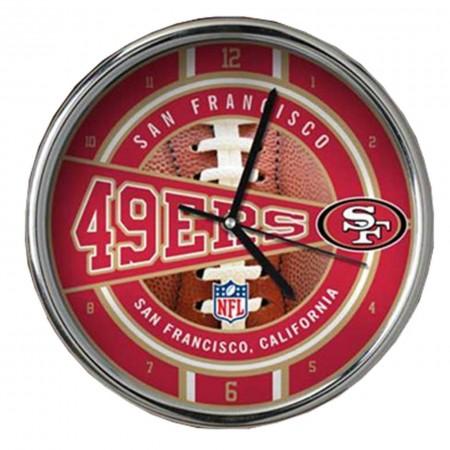 SAN FRANCISCO 49ERS # 1 OROLOGIO 29 CM DA PARETE DA TAVOLO IDEA REGALO CLOCK