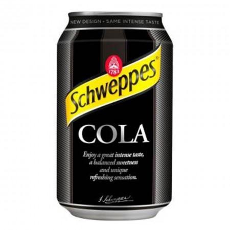 SCHWEPPES COLA  ( 12 x 330ml )