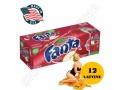 12 LATTINE FANTA APPLE 355ML MELA MADE IN USA PER FRIGO FRIDGE PACK