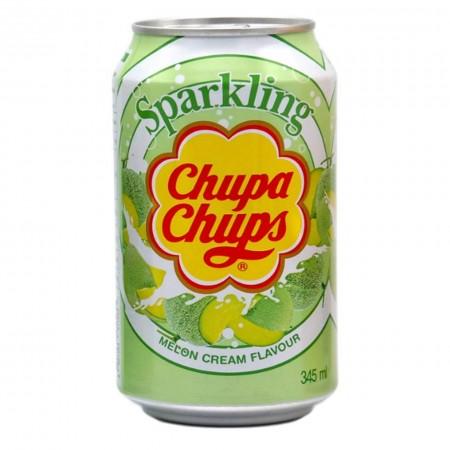 CHUPA CHUPS SPARKLING MELON CREAM ( 3 x 345ml )
