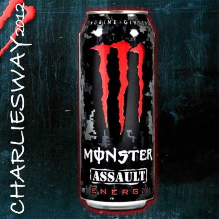 LATTINA MONSTER ASSAULT ENERGY 500 ML DRINK BEVANDA ENERGETICA SPECIALITA' MONDO