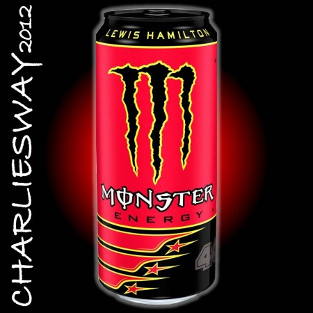 1 LATTINA MONSTER DA 500 ML LEWIS HAMILTON