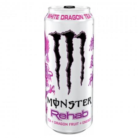 MONSTER DRAGON TEA ENERGY DRINK REHAB WHITE 458ml