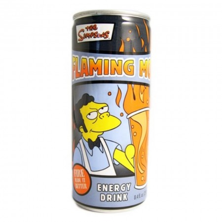 SIMPSON ENERGY DRINK DA 250ml MADE IN USA BEVANDA ENERGETICA