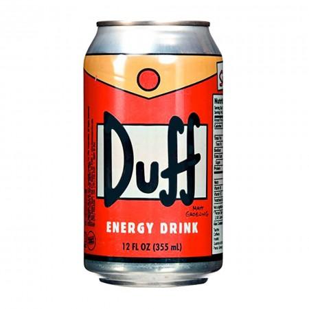 DUFF ENERGY DRINK 330 ML AROMA ARANCIA MADE IN USA