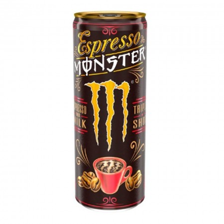 MONSTER ESPRESSO AND MILK 250ml TRIPLO SHOT ENERGY DRINK