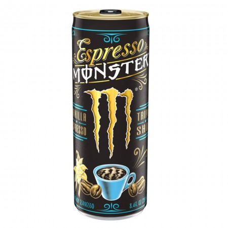 MONSTER ESPRESSO VANILLA 250ml TRIPLO SHOT ENERGY DRINK