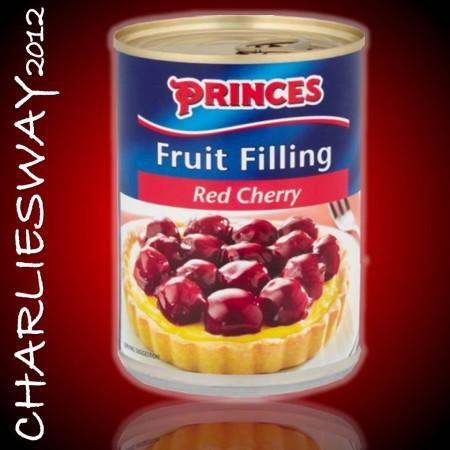 PRINCES FRUIT FILLING RED CHERRY DA 410 GR RIEMPIMENTO PER DOLCI TORTE CROSTATE